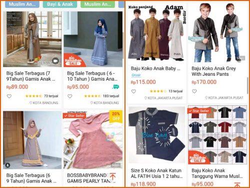 Beli Baju Lebaran Online Persiapan Lebaran Tanpa Keluar Rumah