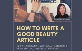 Q&A : Cara Menulis Artikel Beauty di Sesi Ngopi Cantik #5 bersama Beautiesquad