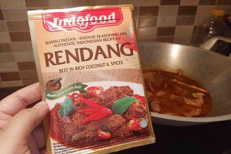 Resep Rendang dengan Bumbu Indofood
