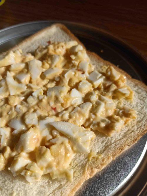 Resep Sarapan Mudah Egg Mayo Toast