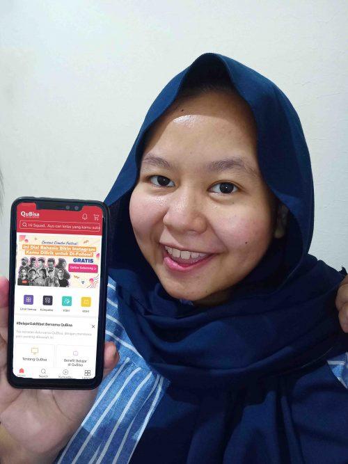 Review Aplikasi QuBisa - Tempat Kursus Online Gratis