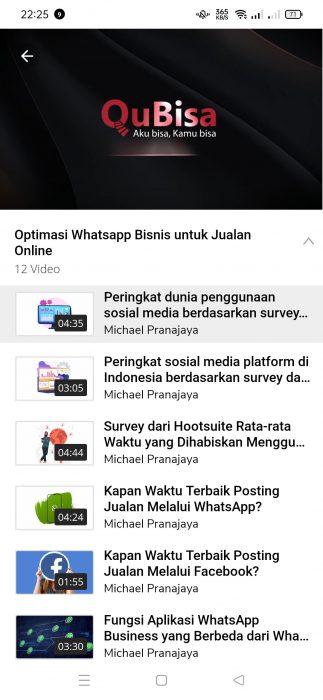 Review Aplikasi QuBisa - Aplikasi siap kerja