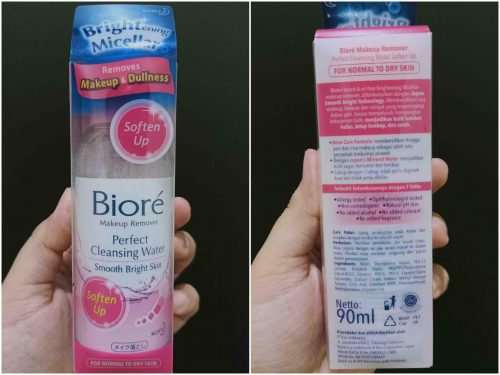 Review Biore Perfect Cleansing Water – Soften Up