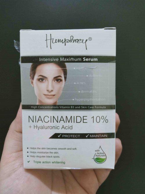 Review Humphrey Niacinamide 10% + Hyaluronic Acid Serum