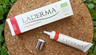Review Laderma - Krim Pemudar Bekas Luka