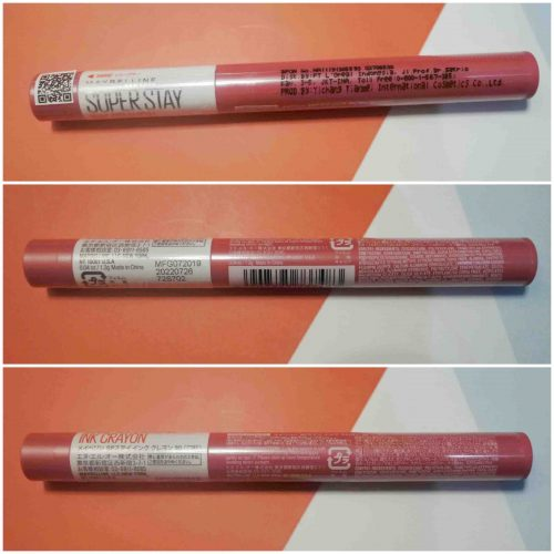Review Lipstik Maybelline Super Stay Ink Crayon