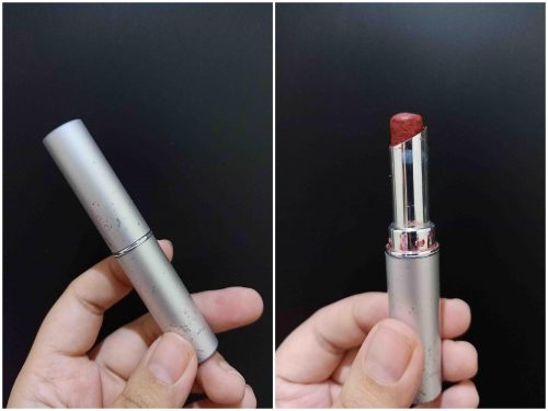 Review Lipstik Wardah : Long Lasting Lipstick - 12 Lustrous Red