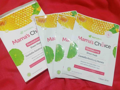 Review Mama's Choice Sheet Mask - Revitalizing & Soothing Protective