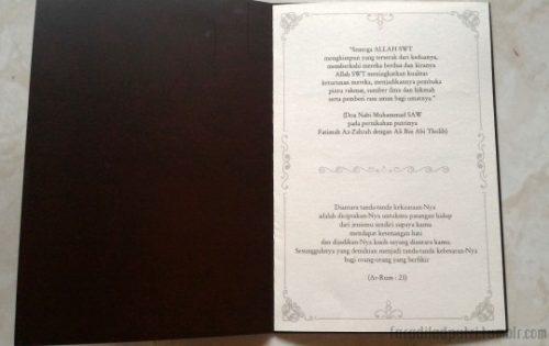 Undangan Pernikahan Adat JAwa Islam