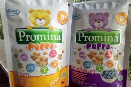 Review Promina Puffs, a Healthy Baby's Finger Snack