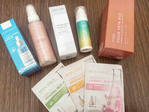 Skincare makeup dijual dari Raena aplikasi reseller