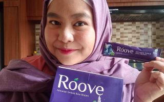 Review Roove - Minuman Kolagen Halal Rasa Blueberry