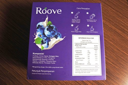 Review Roove - Minuman Kolagen Halal Rasa Blueberry