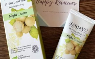 Review Sariayu Putih Langsat Night Cream by Martha Tilaar