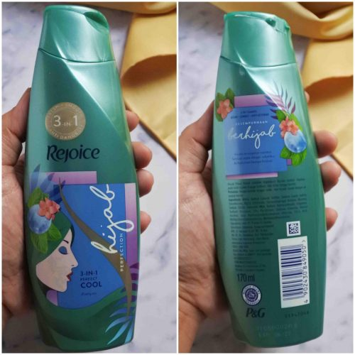 Review Shampoo Hijab Perfection Series Rejoice 3in1 Perfect Cool