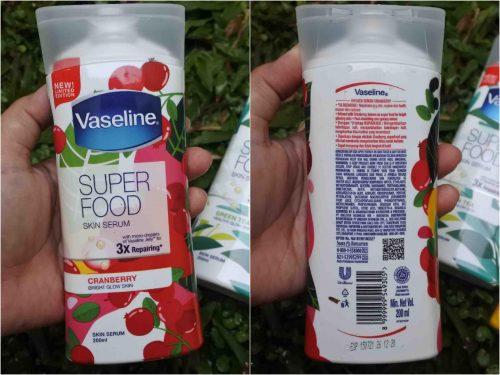 Review Vaseline Superfood Skin Serum – Untuk Kulit Lebih Sehat