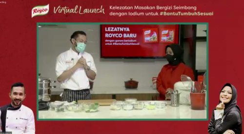 demo masak virtual launch royco baru garam beriodium