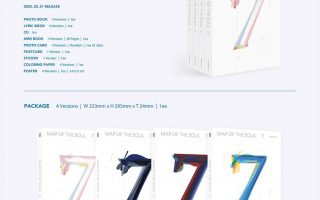 PO MOTS 7 BTS Tips Membeli atau PO Album K-Pop