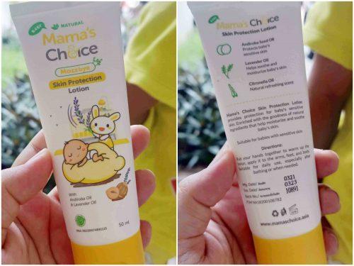Mama's Choice Baby Mozzbye Skin Protection Lotion anti nyamuk bayi anak