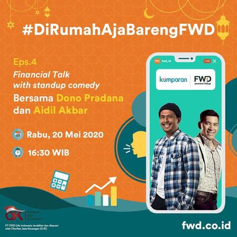 FWD Life IG LIVE Financial talk Aidil Akbar Dono Pradana