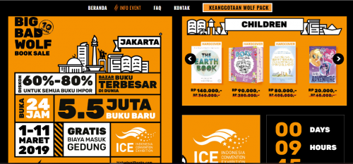 Tips Menggunakan Jastip BBW (Big Bad Wolf) Book Sale