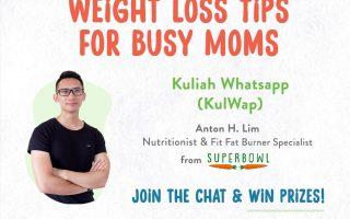Tips Menurunkan Berat Badan untuk Ibu Sibuk