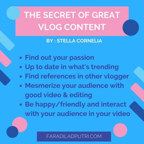 Secret to Great Vlog Content Tips & Tricks Menjadi Vlogger di Acara Launching Healthy Zona