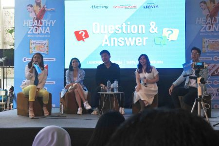 Tips & Tricks Menjadi Vlogger di Acara Launching Healthy Zona