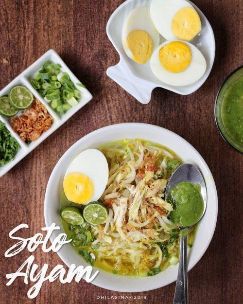 Soto Ayam Dhilasina Yuk Recook Resep Soto Ayam Para Instagram Chef Ini!