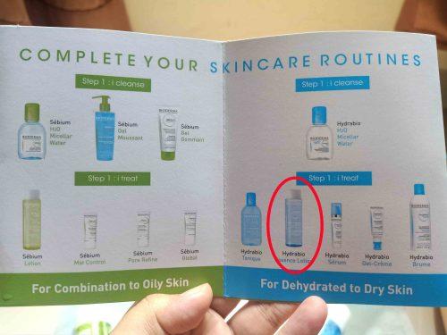cara pakai bioderma hydrabio essence lotion
