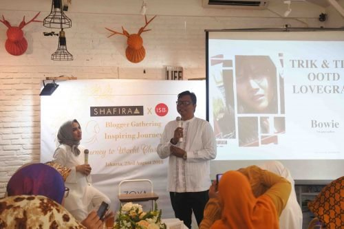 Yogie Bowie - An Inspiring Journey with Shafira and Komunitas ISB