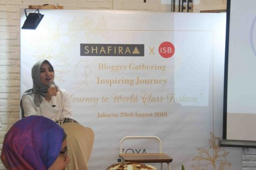 Dina Fitria - An Inspiring Journey with Shafira and Komunitas ISB