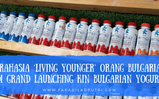 Rahasia 'Living Younger' Orang Bulgaria di Grand Launching Kin Bulgarian Yogurt