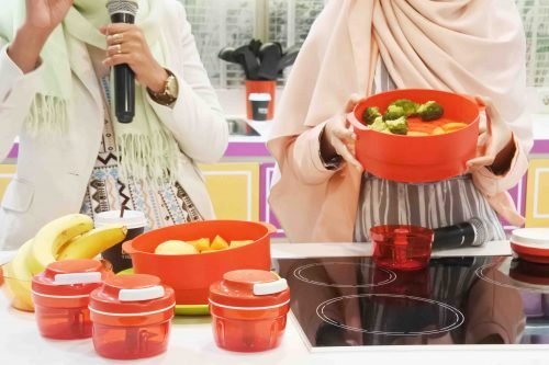 Baby Spa di Rumah Bersama Tupperware Little Bee