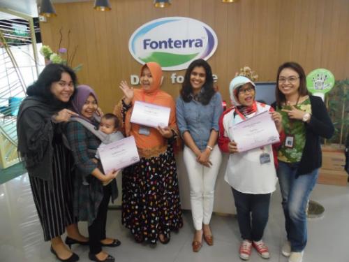 Menang juara 1 Anmum Blog Competition