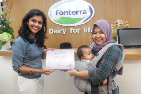 Menang juara 1 Anmum Blog Competition