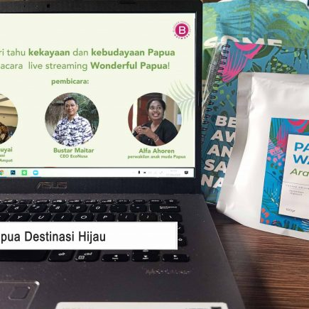 Mengenal Tanah Papua di Wonderful Papua Virtual Gathering
