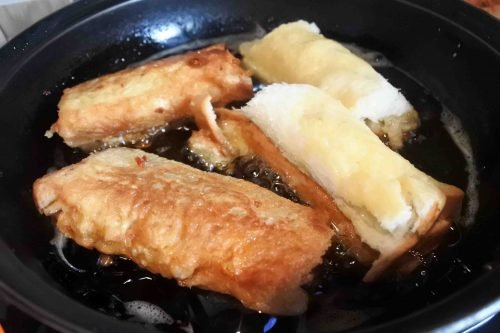 Resep Roti Gulung Nugget Tomat – Snack ala So Good