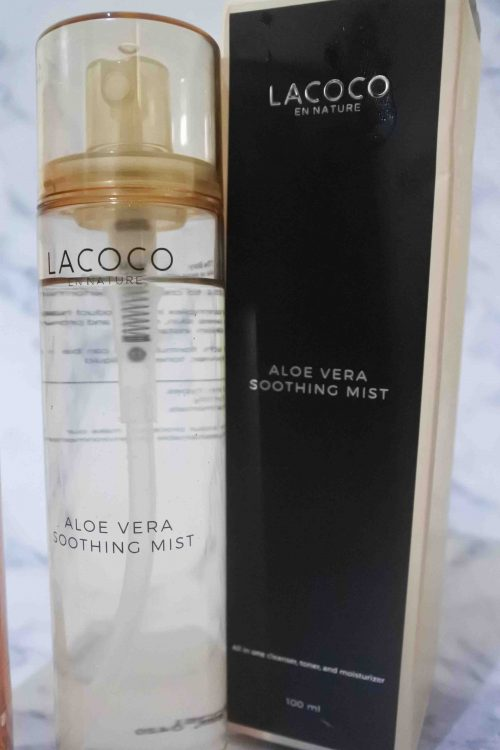 Review Lacoco Aloe Vera Soothing Mist
