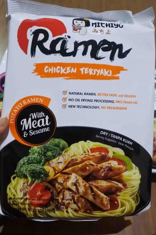 Review Michiyo Ramen - Ramen Halal yang Enak