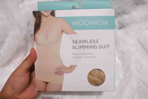 Review Mooimom Seamless Slimming Suit dan Soft Cup Stripe Nursing Bra