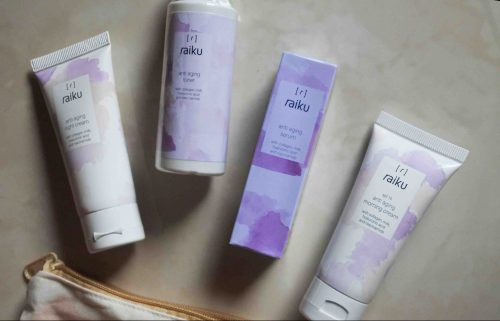 Review Raiku Anti Aging Series & Cleaning Series