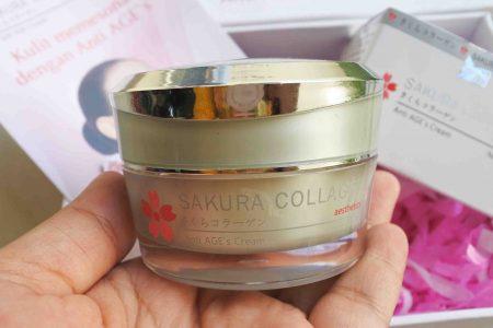 Review Sakura Collagen Anti AGE`s Cream