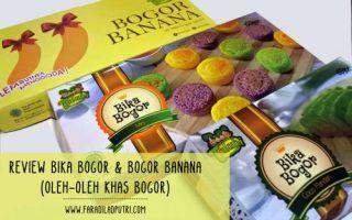 Review Bika Bogor & Bogor Banana (Oleh-oleh Khas Bogor)