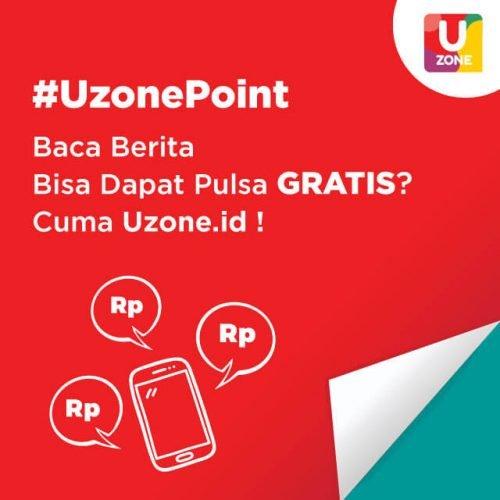 Dapat Pulsa Gratis dengan Uzone Point