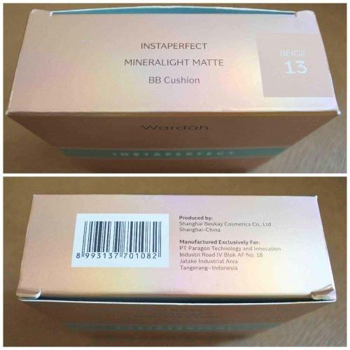 Review Wardah Instaperfect Mineralight Matte BB Cushion