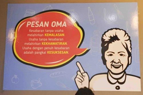 Icip Masakan Oma di Waroenk Talubi Kuliner Bogor
